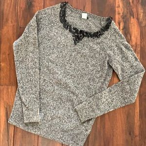 J. Crew Sweater with neck detail S